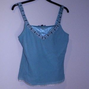 Antonio Melani Blue Top Tag Size M